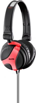 Наушники AKG K518 (черно-красный) - общий вид