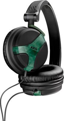 Наушники AKG K518 (черно-оливковый) - общий вид