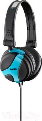 Наушники AKG K518 (черно-синий) - общий вид