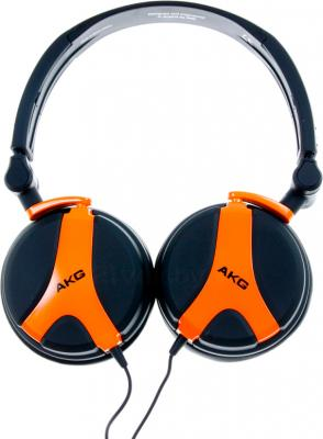 Наушники AKG K518 (черно-оранжевый) - общий вид