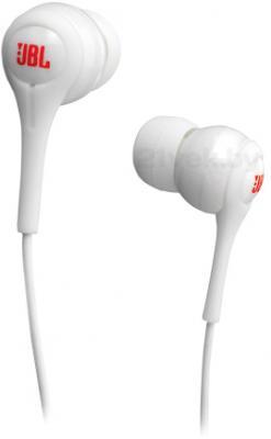 Наушники JBL Tempo In-Ear J01 (белый) - общий вид
