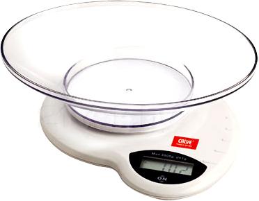 Кухонные весы Calve CL-4589 - общий вид