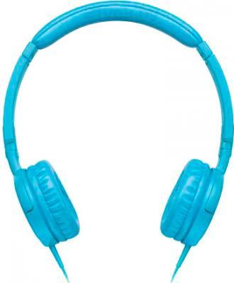 Наушники JBL Tempo On-Ear J03 (синий) - вид сбоку