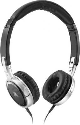 Наушники JBL Tempo On-Ear J03A (Black-Silver) - общий вид