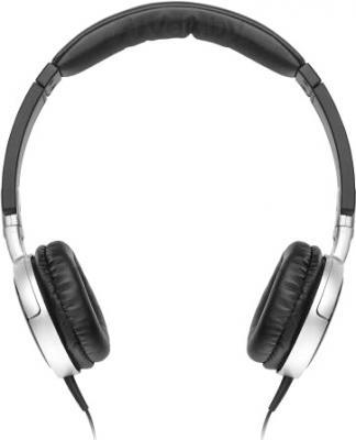 Наушники JBL Tempo On-Ear J03A (Black-Silver) - вид спереди