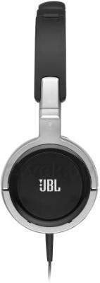 Наушники JBL Tempo On-Ear J03A (Black-Silver) - вид сбоку