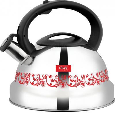 Чайник со свистком Calve CL-1471 - в нагретом состоянии
