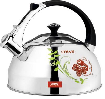Чайник со свистком Calve CL-1473 - в нагретом состоянии