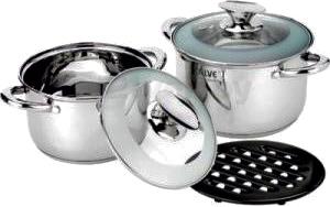 Набор кухонной посуды Calve CL-1827 - общий вид