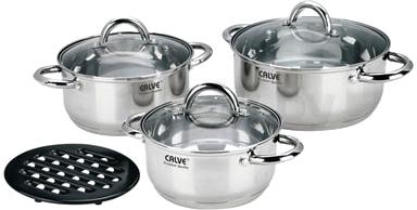Набор кухонной посуды Calve CL-1088 - общий вид