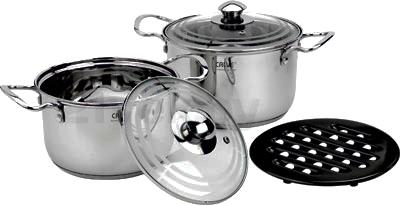 Набор кухонной посуды Calve CL-1829 - общий вид