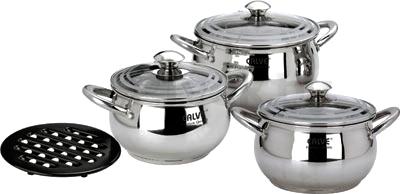 Набор кухонной посуды Calve CL-1095 - общий вид