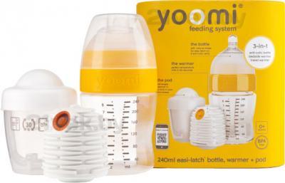 Система кормления Yoomi 8oz W+P+T (240мл) - общий вид