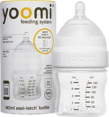 Бутылочка Yoomi 5oz +Т (140мл) - общий вид
