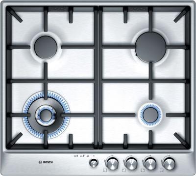 Газовая варочная панель Bosch PCH615M90R - общий вид