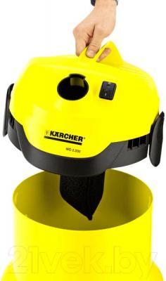 Пылесос Karcher WD 2 / MV 2 (1.629-761.0)