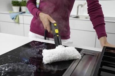 Гладильная система Karcher SI 2.600 CB (1.512-367.0) - чистка кухонной плиты