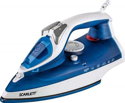 Утюг Scarlett SC-SI30E01 (синий) - общий вид