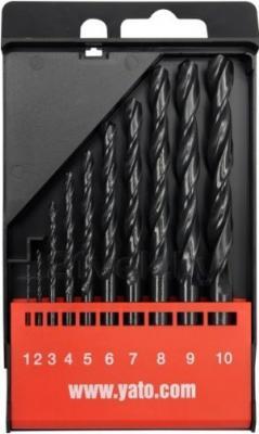 Набор сверл Yato YT-4461 (10 предметов) - общий вид