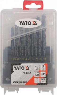 Набор сверл Yato YT-4462 (19 предметов) - общий вид