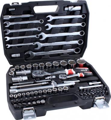 Универсальный набор инструментов Yato YT-1269 (82 предмета) - в раскрытом виде