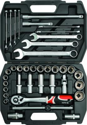 Универсальный набор инструментов Yato YT-3876 (38 предметов) - общий вид