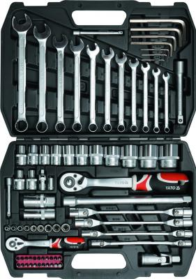 Универсальный набор инструментов Yato YT-3878 (77 предметов) - общий вид