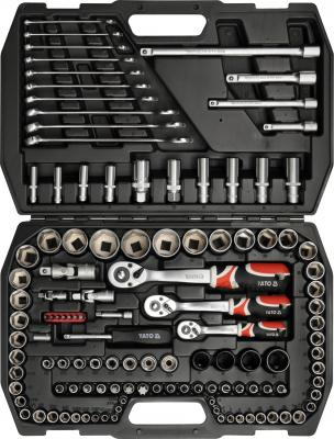 Универсальный набор инструментов Yato YT-3880 (120 предметов) - общий вид