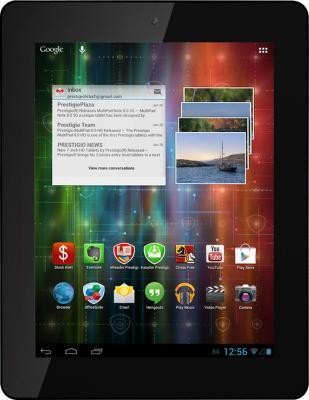 Планшет Prestigio Multipad 4 ULTRA QUAD 8.0 8GB 3G (PMP7280C3G_BK_QUAD) - фронтальный вид