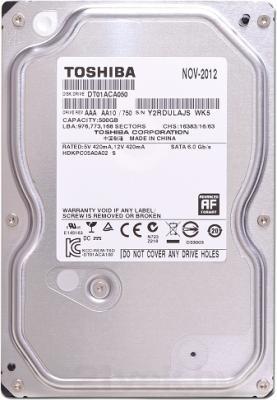 Жесткий диск Toshiba DT01ACA 500GB (DT01ACA050) - вид сверху