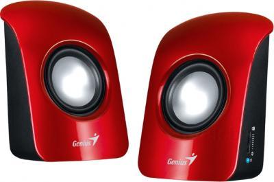 Мультимедиа акустика Genius SP-U115 (Red) - общий вид