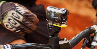Экшн-камера Sony HDR-AS30VB (набор Bike) - с креплением