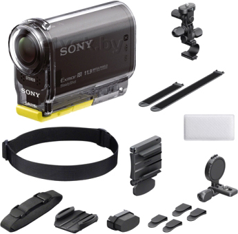 "Экшн-камера Sony HDR-AS30VB (набор Bike) - комплектация ""bike"""