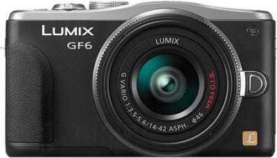 Беззеркальный фотоаппарат Panasonic Lumix DMC-GF6KEE - общий вид