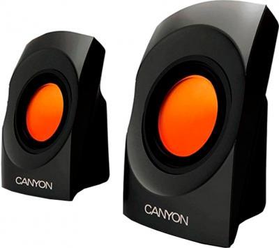 Мультимедиа акустика Canyon CNR-SP20JB (Black-Orange) - общий вид
