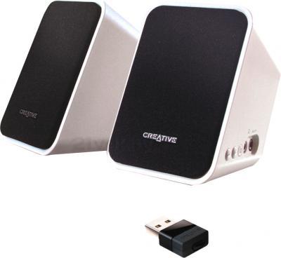 Мультимедиа акустика Creative Inspire S2 - колонки и USB-передатчик
