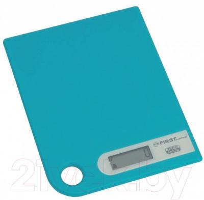 Кухонные весы FIRST Austria FA-6401-1 (голубой)