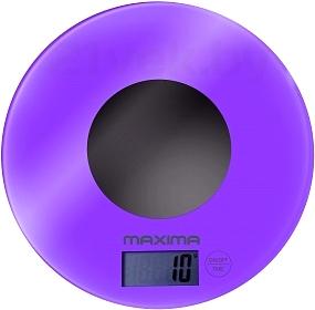 Кухонные весы Maxima MS-067 (Purple) - общий вид