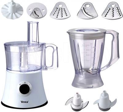 Кухонный комбайн Vesta VA-5292 - комплектация