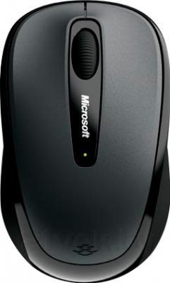 Мышь Microsoft Wireless Mobile Mouse 3500 USB (черно-серый) - общий вид