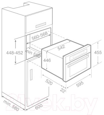 Духовой шкаф Teka MCL 32 BIS