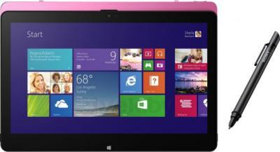 Ноутбук Sony Vaio Fit SVF11N1L2RP - планшетный вид со стилусом