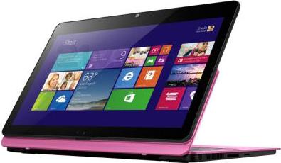 Ноутбук Sony Vaio Fit SVF11N1L2RP - планшетный вид