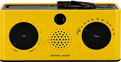 Радиочасы Oregon Scientific RRA320PN (Yellow) - вид сверху