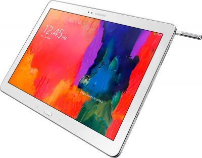 Планшет Samsung Galaxy Note Pro 12.2 32GB White (SM-P900) - общий вид со стилусом