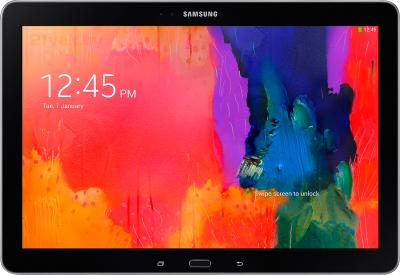 Планшет Samsung Galaxy Note Pro 12.2 3G Black (SM-P901) - фронтальный вид