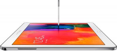 Планшет Samsung Galaxy Note Pro 12.2 3G White (SM-P901) - общий вид о стилусом