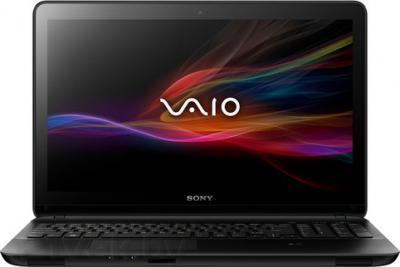 Ноутбук Sony Vaio SVF1521F1RB - фронтальный вид