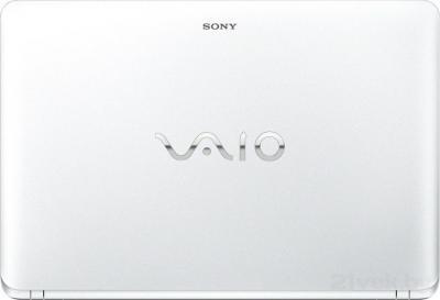 Ноутбук Sony Vaio SVF1521H1RW - крышка