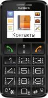 Мобильный телефон TeXet TM-B112 (серый) -